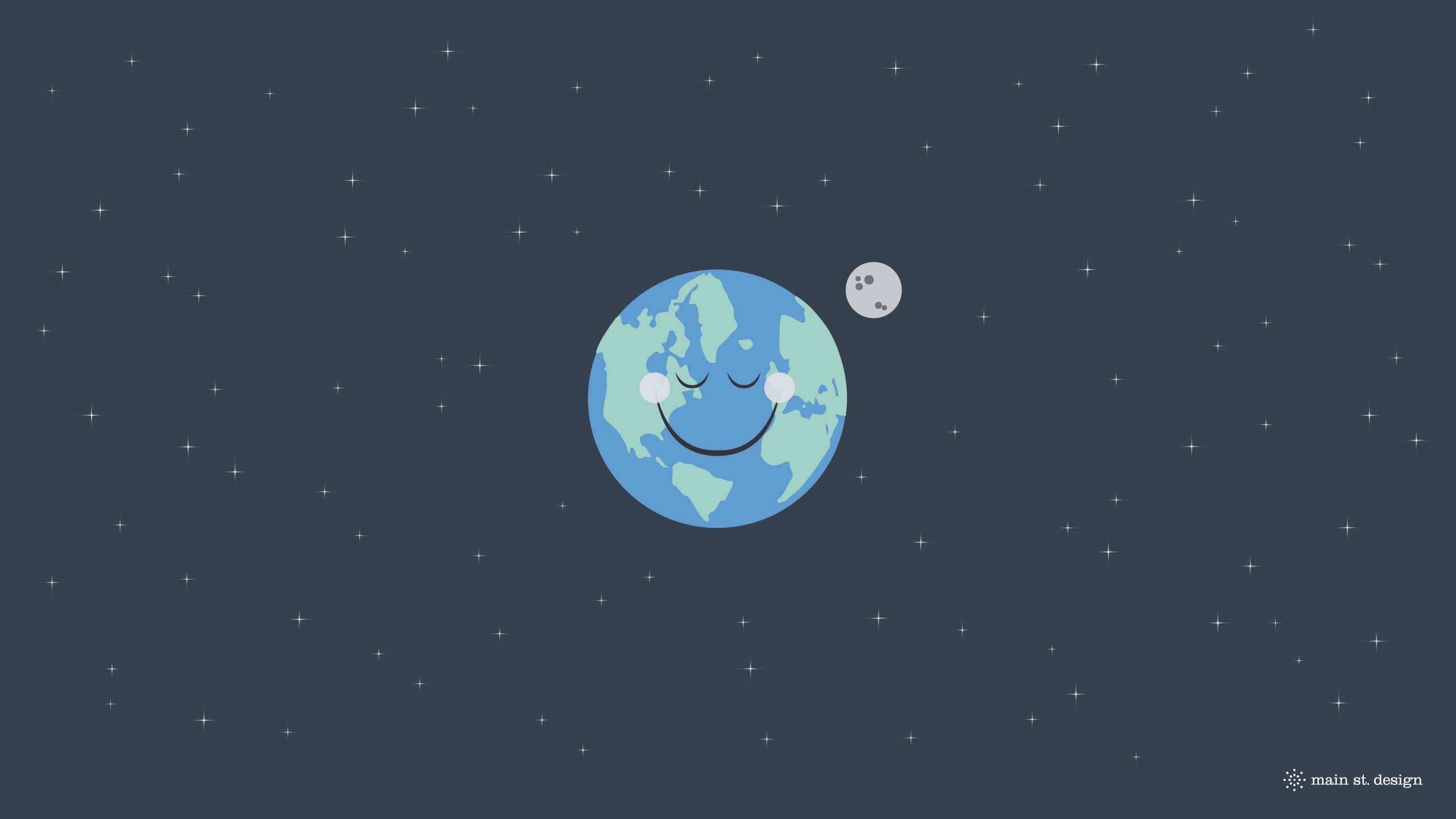 Happy space main st design - Space 2560 x 1440 ...