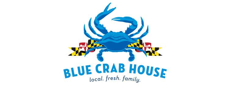 Blue Crab House Logo - Main St. Design